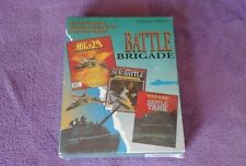"BATTLE BRIGADE 3.5"" DOS IBM PC ABRAMS TANK SUB MIG 29 VIDEO GAME COMPLETE NEW"
