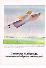PUBLICITE  1974   LA REDOUTE  vente par correspondance photo  GEROGE LEMOINE
