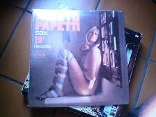 "LP 12"" FAUSTO PAPETTI SAX 19A RACCOLTA SEXY COVER GATEFOLD  EX++/N-MINT"