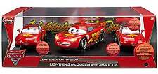 Disney Cars 2 Limited Edition Lightning McQueen with Mia & Tia Die Cast 3PC Set