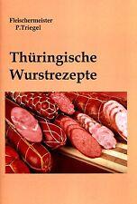 Thüringische Wurstrezepte  (Wursten-Räuchern-Hausschlachten) PDF Datei