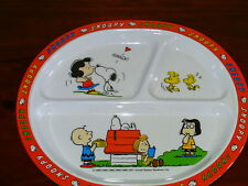 COLLECTABLE OLD SNOOPY PLATE - MALAMINE