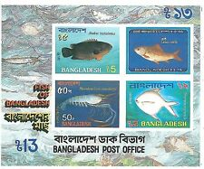STAMPS - BANGLADESH 1986 - FISH