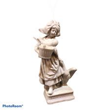 Figurine en biscuit Gänseliesel Lison aux oies