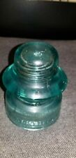 New ListingBrookfield New York Aquamarine Insulator