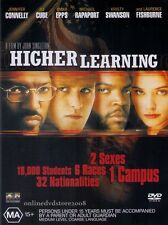 HIGHER LEARNING (Omar EPPS Ice CUBE Laurence FISHBURNE) Crime Film DVD Region 4