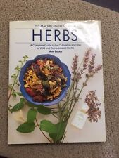 Macmillan Treasury of HERBS Cultivation and Use of Herbs Ann Bonar HBwDJ  -53