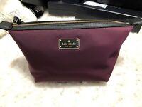 Kate Spade Wilson Road Jody Cosmetic bag Multifunction Case Deep Plum Msrp $69