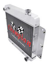 3 Row Perf Champion Radiator for 1962 - 1967 Chevrolet Chevy II Nova V8 Conv