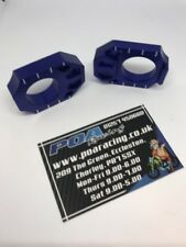 Zeta Axle Blocks Kawasaki KXF 250 04-16, KXF 450 06-15, KX 125/250 03-08 Blue