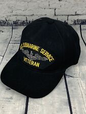 US Navy Submarine Veteran Trucker Hat Ball Cap Black/Gold