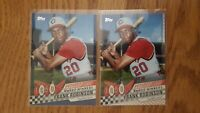 2020 Topps Series 1 FRANK ROBINSON Decades' Best BLUE Parallel/Base Reds #DB-7