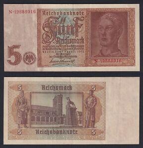 Germania 5 reichsmark 1942 BB+/VF+  B-10