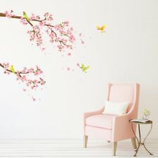 Decowall Cherry Blossom Flower Nursery Kid Removable Wall Stickers Decal DW-1303