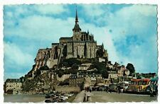 POST CARD FRANCE COLOR PHOTO LE MONT SAINT-MICHEL