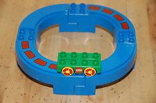 Lego Duplo Mono Rail Set Blue Track Green Monorail Rail