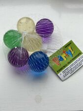 Set of 6 bouncy balls