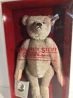 SIGNED Steiff 0150/32 Mohair Teddy Bear 1983 Margaret Steiff 1902 Replica BOXED