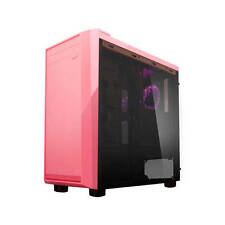 Apevia X-MIRAGE-PK No Power Supply ATX Mid Tower w/ Side Window (Pink)