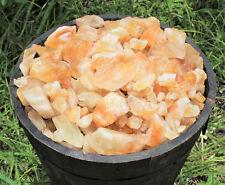 Rough Natural Citrine Crystals 1 lb Bulk Wholesale Lot Raw Gemstones (16 oz)