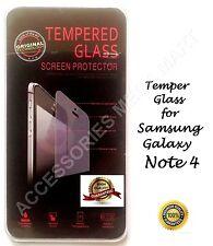 GENUINE TEMPER GLASS ANTI-SCRATCH SCREEN PROTECTOR GUARD FOR GALAXY NOTE 4