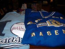 "Lot of 2 Men's Sz XL KANSAS CITY ROYALS Short Sleeved Blue Graphic Tees ""MLB"""
