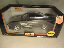 Ford SHINODA BOSS Mustang Maisto Black  Silver 1/24