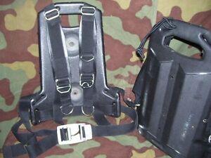 Backpack Hard Pocket Bombola-Ossigeno Drager