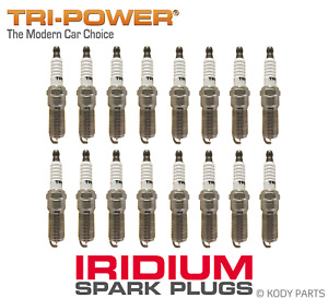 IRIDIUM SPARK PLUGS - for Jeep Grand Cherokee SRT-8 4WD 6.1L V8 WH (ESF Hemi)