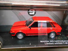 MAZDA 323 MKII 2 BD Hatchback 5 porte 1982 red rouge 1/504 IXO triple 9 1:43