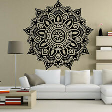 Mandala Flower Vinyl PVC Removable Art Wall Sticker Decal Mural Room House