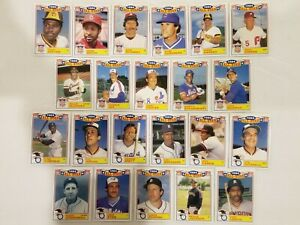 1985 Topps ALL STAR GLOSSY INSERT SET (complete set of 22 cards)