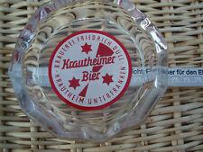 Krautheimer Bier Aschenbecher, Brauerei Friedrich Düll, Krautheim in Untfr.