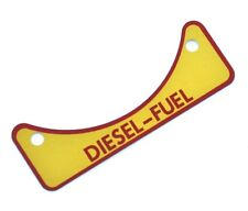 LAND ROVER DEFENDER DIESEL FUEL CAUTION DECAL - Part No 502951