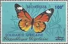 Timbre Papillons Togo 780 ** lot 22282