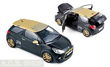 2013 Citroen DS3 Racing Negro/dorado 1 18 Norev 181547