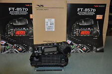 YAESU FT-857D HF +  YSK857 CAR KIT HF PLUS 6M +2M+70cm + General coverage tx/rx