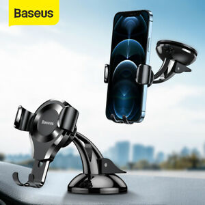 Baseus In Car Phone Holder Gravity Dashboard Windscreen Suction Mount Stand