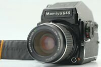 【Exc+5 w/Strap】MAMIYA M645 1000S CDS Finder + Sekor C 55mm f/2.8 Lens from JAPAN