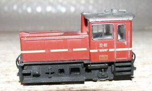 G21 Merker + Fischer Diesellok Feldbahn 22-02 Spur HOe Bastler