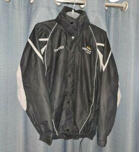 DONCASTER ROVERS Keepmoat Stadium Rain Coat Football Jacket Small Nt Shirt