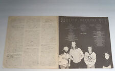 Genesis Second Out Japan Rare Hard To Find Vintage Japanese Vinyl Lp Insert Only