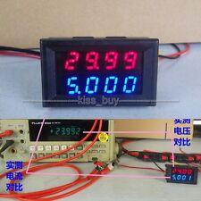 500V 50A Voltmeter Amperemeter Digital LED Anzeige Spannung Strom Meter 12v 24v