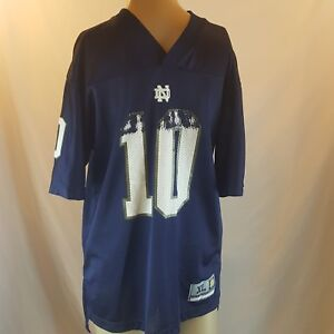 Notre Dame College Football Youth Jersey Blue Gold Size Youth XL NCAA