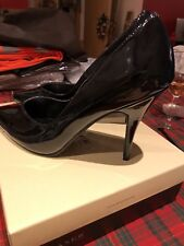 "Pleaser ""Seduce"" Black Patent Leather stiletto heels Sz 11 (44) possibly drag"