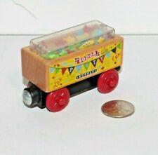 Thomas & Friends Wooden Railway Train Tank Engine - Confetti Car EUC 2012 Party