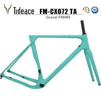 Celeste Carbon Fiber Road Racing Gravel Frames 700C/27.5er Disc Brake Bike Frame