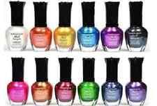 12 PCS New Kleancolor FULL SIZE METALLIC LOT Nail Polish Colors KCN705