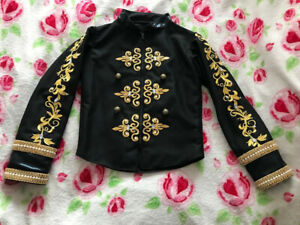 Boys Ballet Tunic Outfit Classical Ballet Dance Costumes Jacket 9yrs