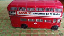 Corgi double decker bus toy like matchbox hotwheels